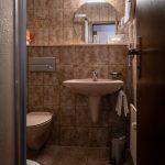 Badezimmer im Gästehaus im Kirchle Kornwestheim